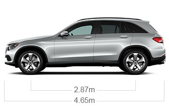 GLC350E4 Side Image
