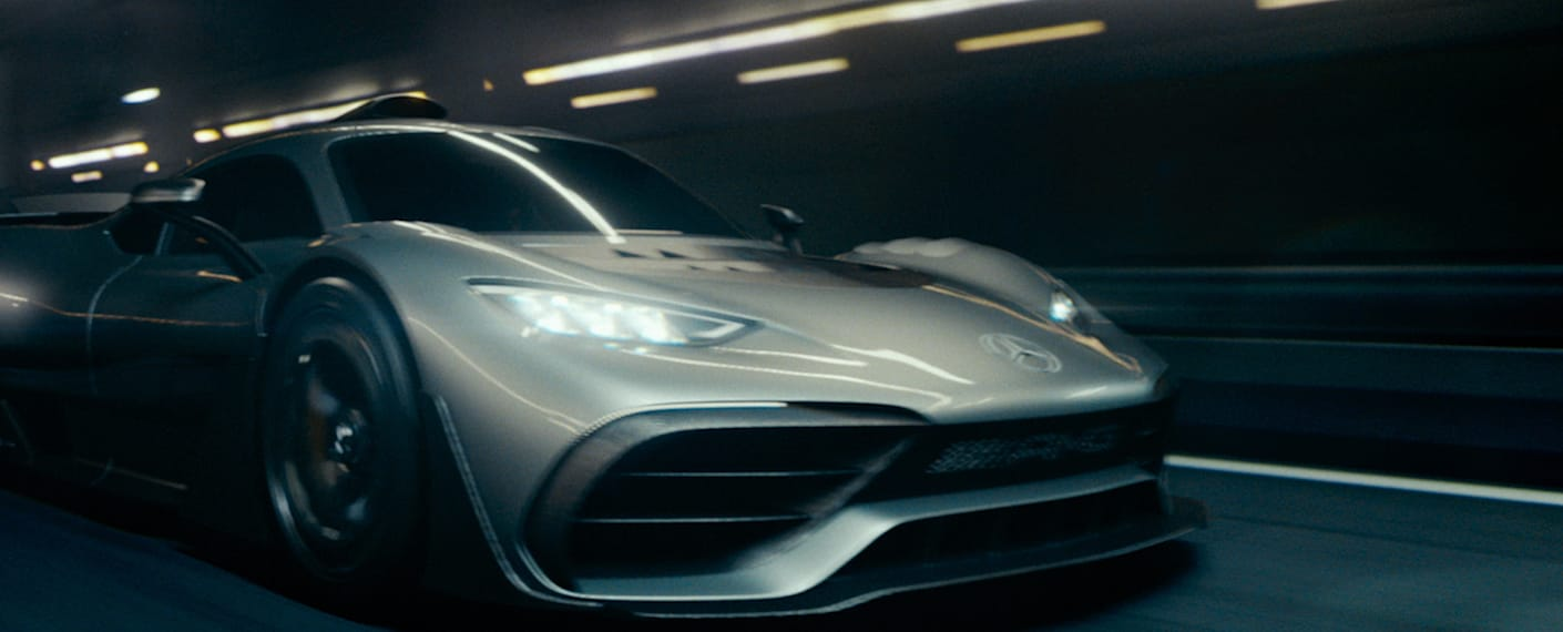 Clip of AMG One