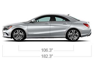 CLA 250 Coupe Specifications