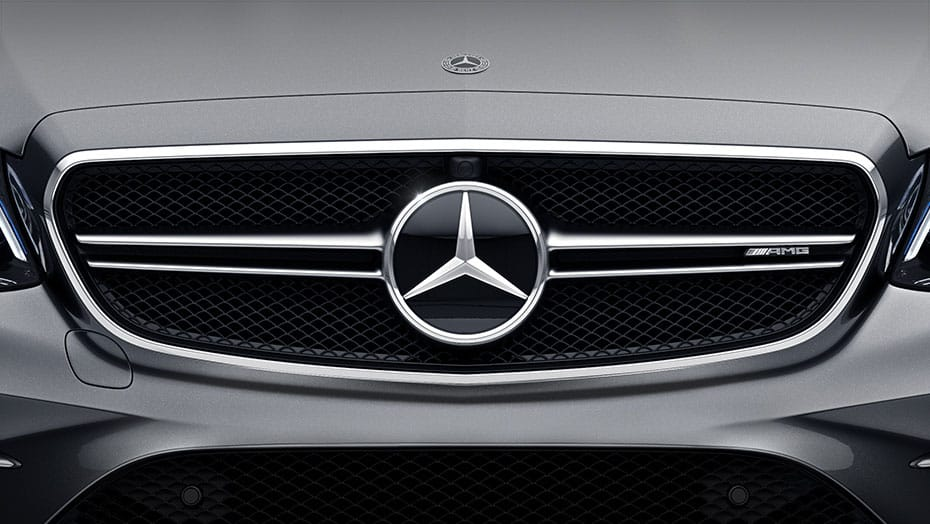 AMG twin-blade grille
