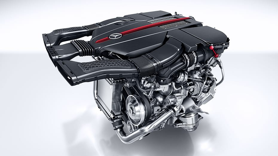 3.0L V6 biturbo engine