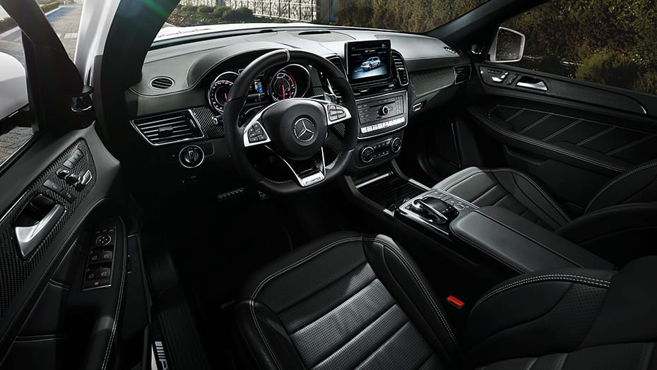 Sport interior appointments