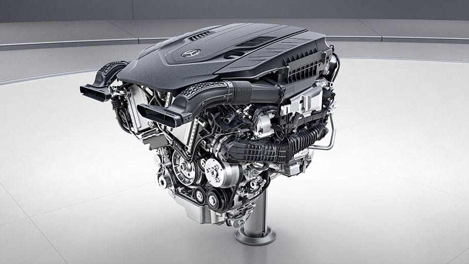 4.0L V8 biturbo engine