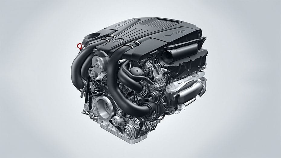 4.7L V8 biturbo engine