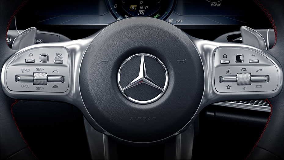 Steering-wheel Touch Control Buttons