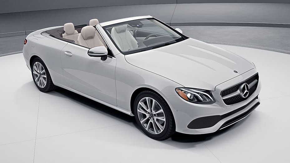 """Sensual purity"" in open-air motoring E 450 Cabriolet"