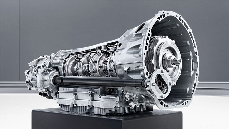 AMG SPEEDSHIFT MCT 9-speed transmission