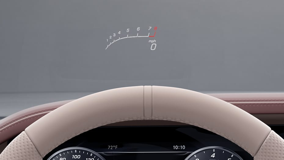 AMG Head-Up Display