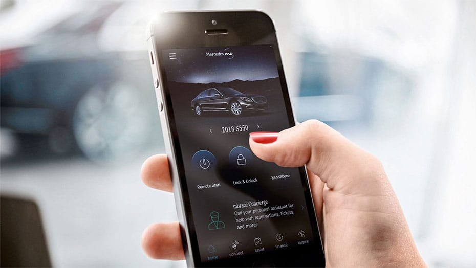 Mercedes me connect Assist Services
