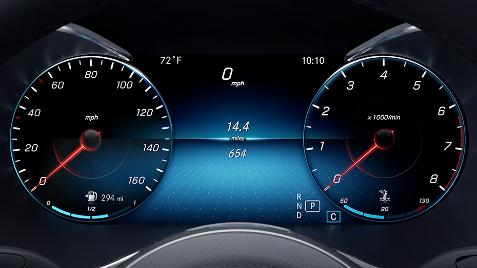 12.3-inch digital instrument cluster-1