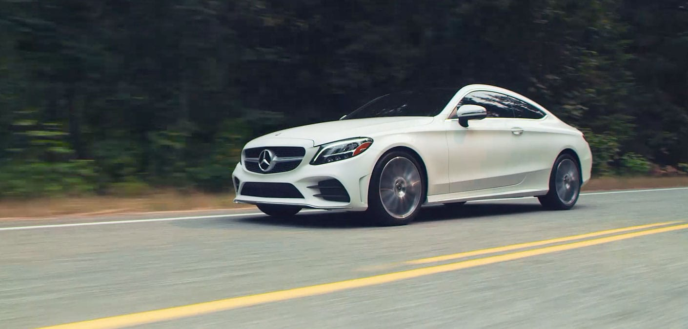 The Compact C Class Coupe Mercedes Benz Usa
