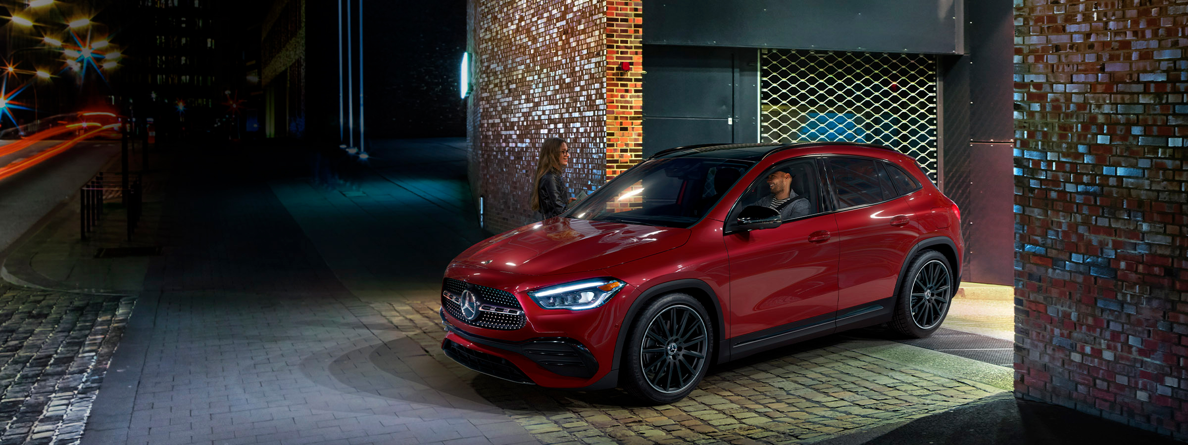 The 2020 GLA SUV