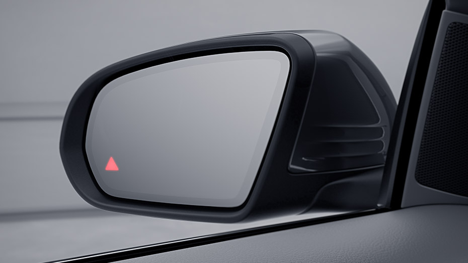 Blind Spot Assist with Exit Warning Assist