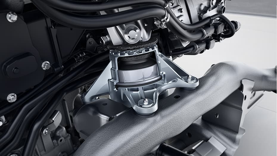 Dynamic engine mounts