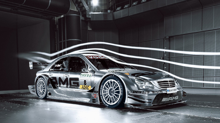 Gray AMG DTM Mercedes AMG C-Class