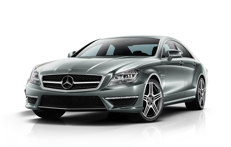 SILVER AMG CLS63