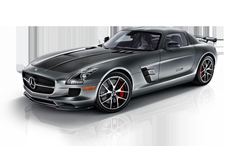 SILVER AMG SLS GT