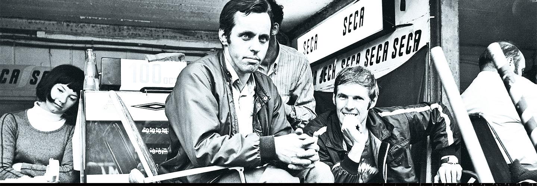 AMG Engineers Hans-Werner Aufrecht and Erhard Melcher - 1967
