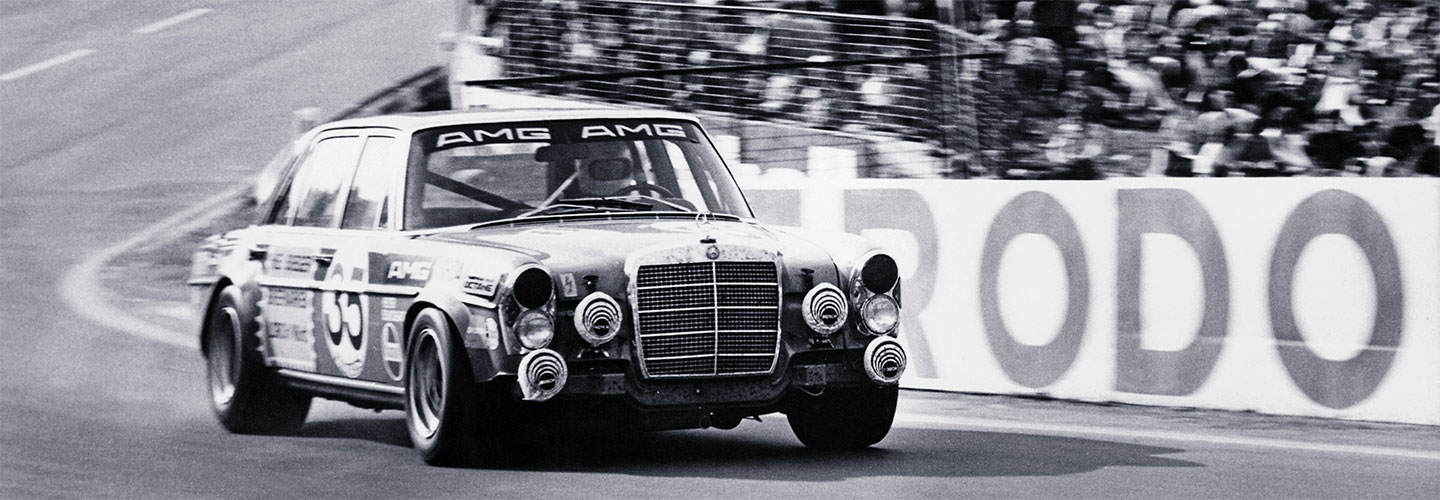 1971 300 SEL 6.8 AMG  - 24 Hours of Spa - Mercedes AMG