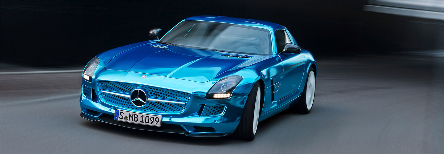 2013 SLS AMG Coupe Electric Drive