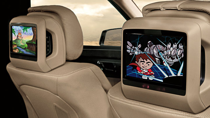 Mercedes benz rear seat entertainment system installation