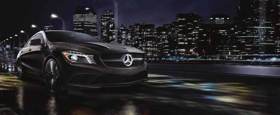 Mercedes Benz 2014 CLA ILLUMINATED STAR 980x405