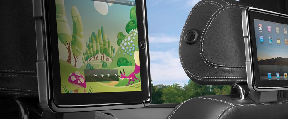 Mercedes Benz iPad Docking 980x405