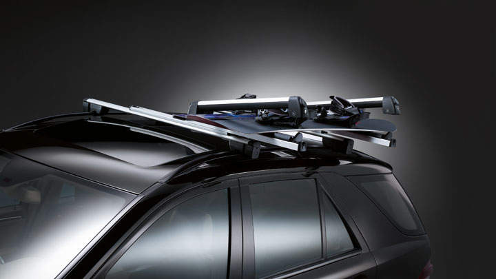 Ski rack for mercedes glk for Mercedes benz c300 roof rack