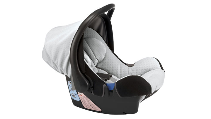 """BabySafe Plus"" infant seat"