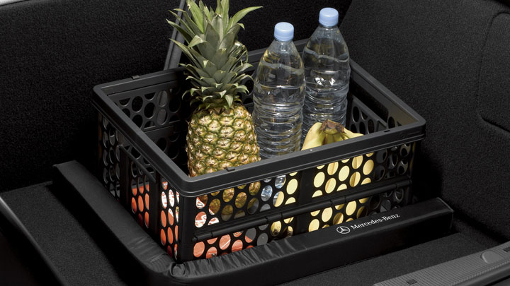 Collapsible shopping crate