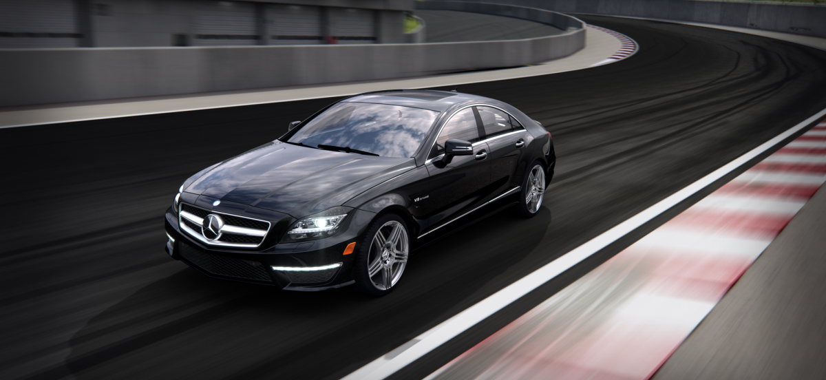 Mercedes Benz 2014 CLS CLASS CLS63 COUPE BACKGROUND 01