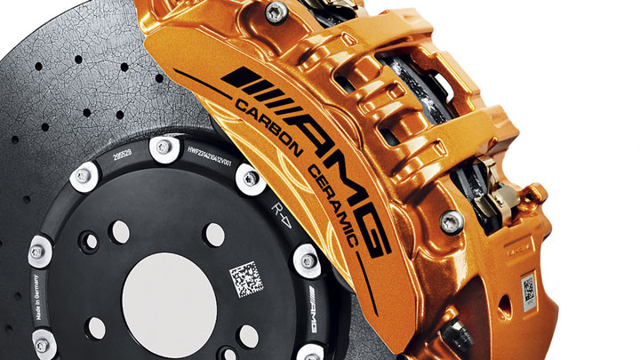 AMG Carbon-Ceramic braking system