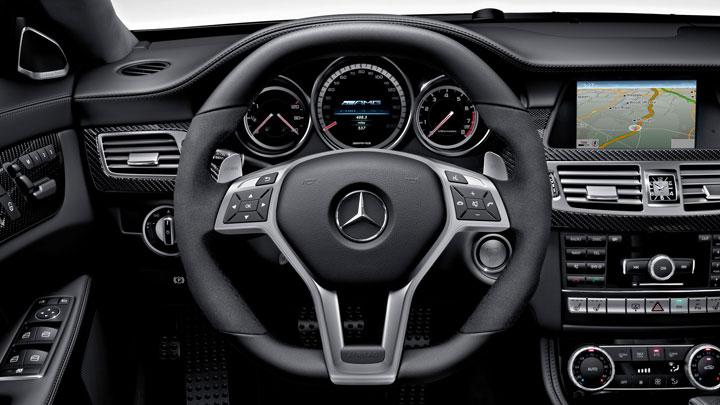 AMG performance steering wheel