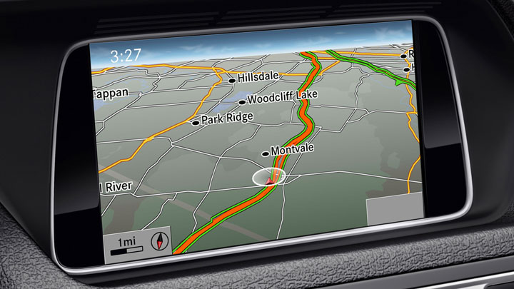 Hard-drive-based navigation
