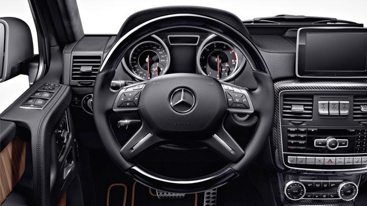 Wood/leather steering wheel