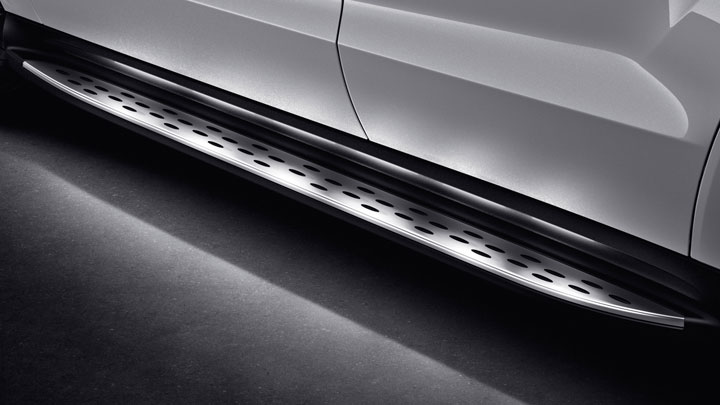 Illuminated running boards