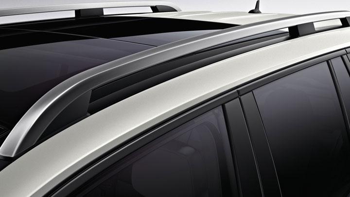 Aluminum roof rails