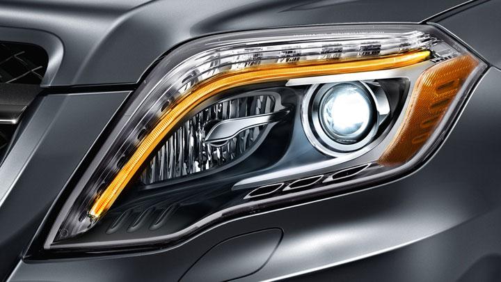 Bi-Xenon headlamps with Active Curve Illumination