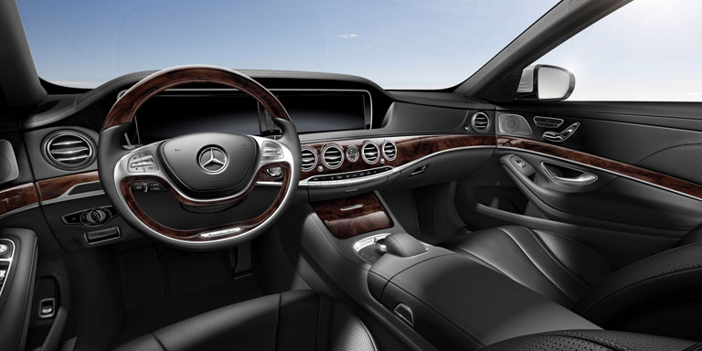 Mercedes Benz 2014 S CLASS SEDAN UPHOLSTERY 201 BYO T 01