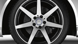 Mercedes Benz 2015 C CLASS COUPE WHEEL THUMBNAIL 607 D