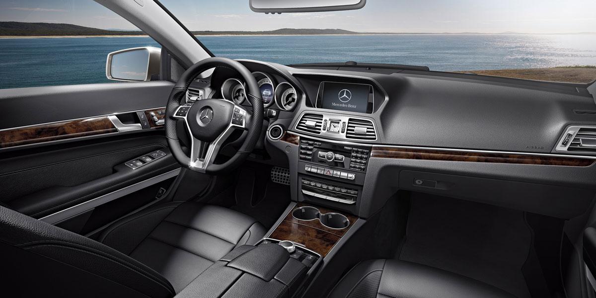 Mercedes Benz 2015 E CLASS E550 COUPE LEATHER 211 BYO D 01