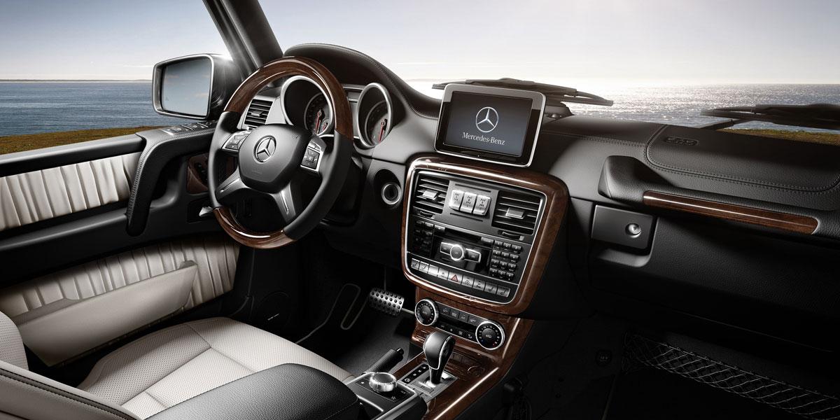 Mercedes Benz 2015 G CLASS G550 SUV DESIGNO ZF3 BYO D 01