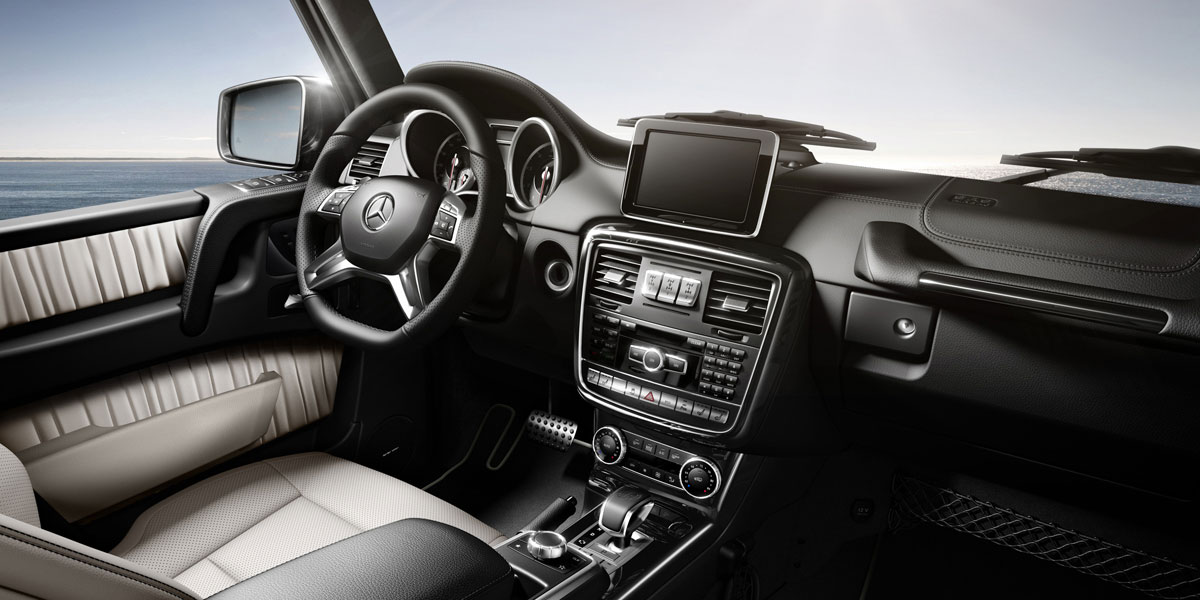 Mercedes Benz 2015 G CLASS G63 AMG SUV DESIGNO ZF3 BYO D 01