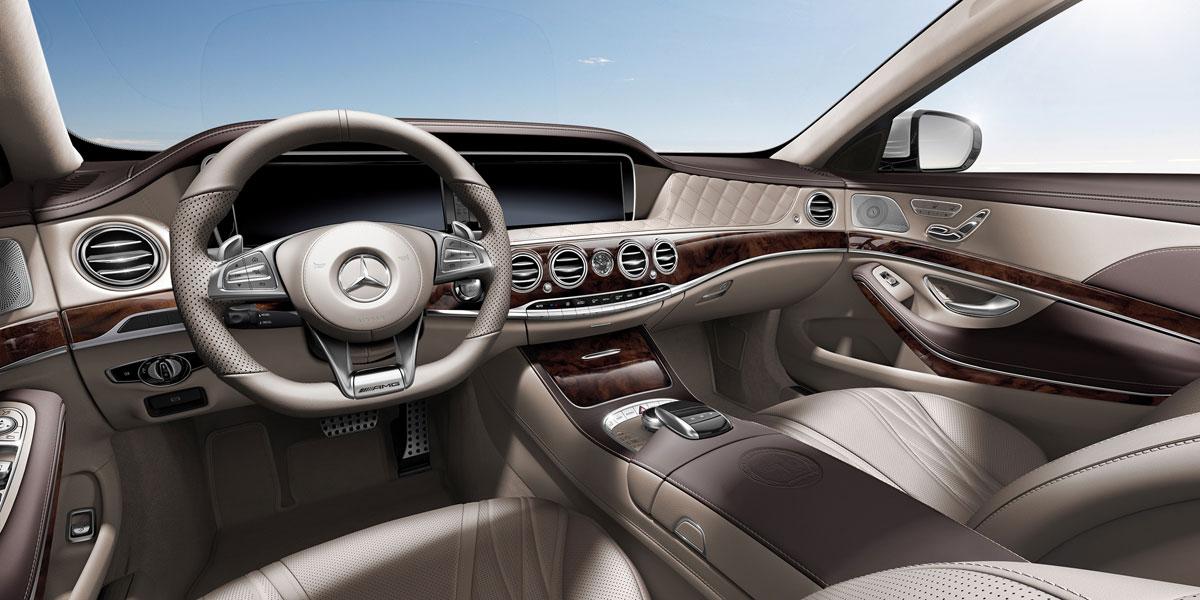 Mercedes Benz 2015 S CLASS S63 AMG SEDAN UPHOLSTERY 399 995 BYO D 01