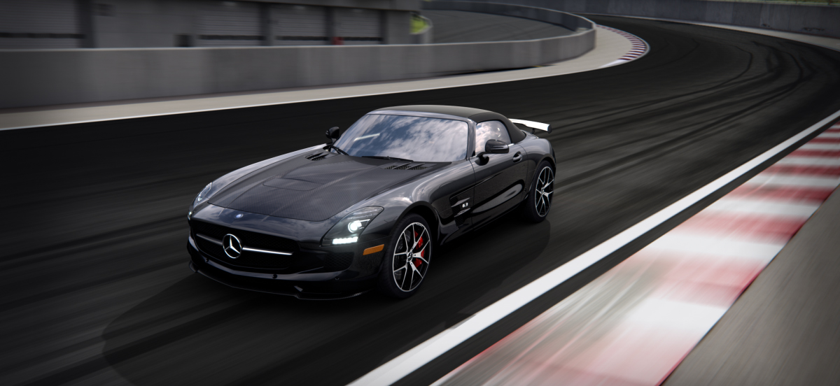 Mercedes Benz 2015 SLS CLASS SLSGTRFE BACKGROUND 01