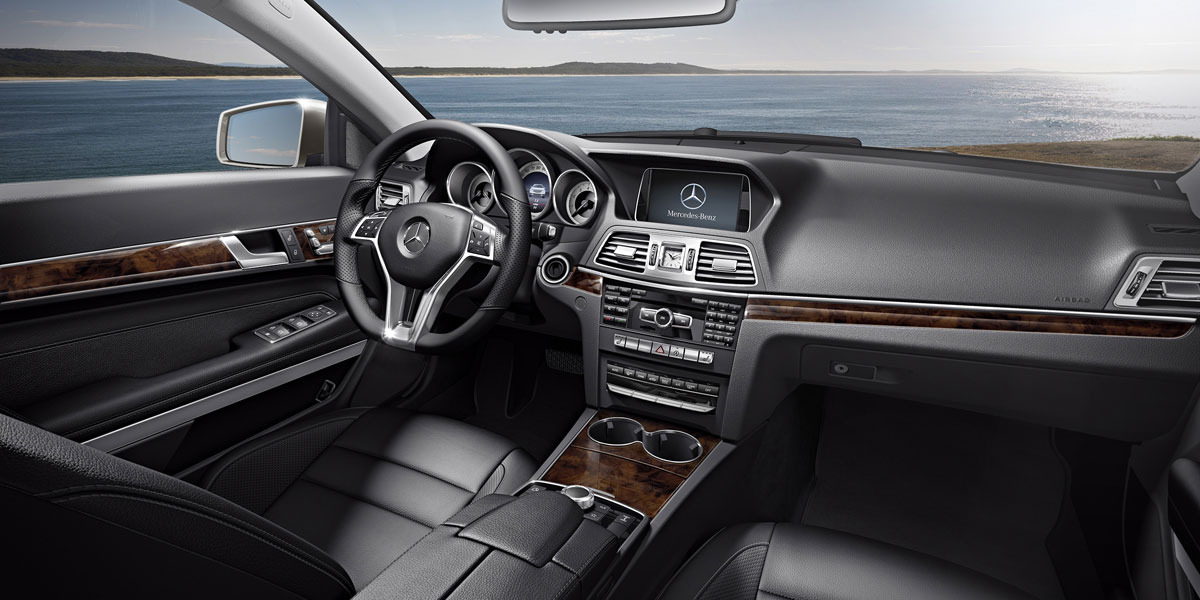 Mercedes Benz 2016 E CLASS E550 COUPE LEATHER 211 BYO D 01