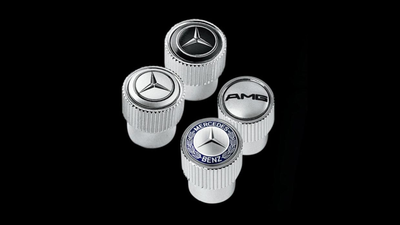 Mercedes Benz MERCEDES BENZ TIRE VALVE STEM CAPS MCFO R