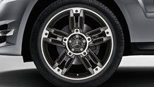 20-inch twin 5-spoke alloy wheels