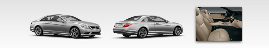 Mercedes-Benz 2012 CL550 Coupe - Interior and Exterior