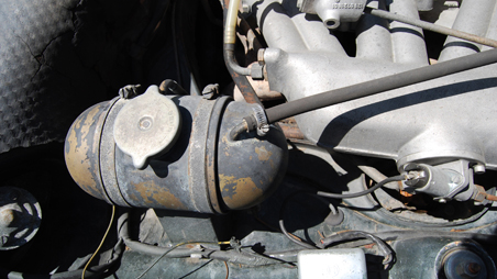 Mercedes Benz engine before highres